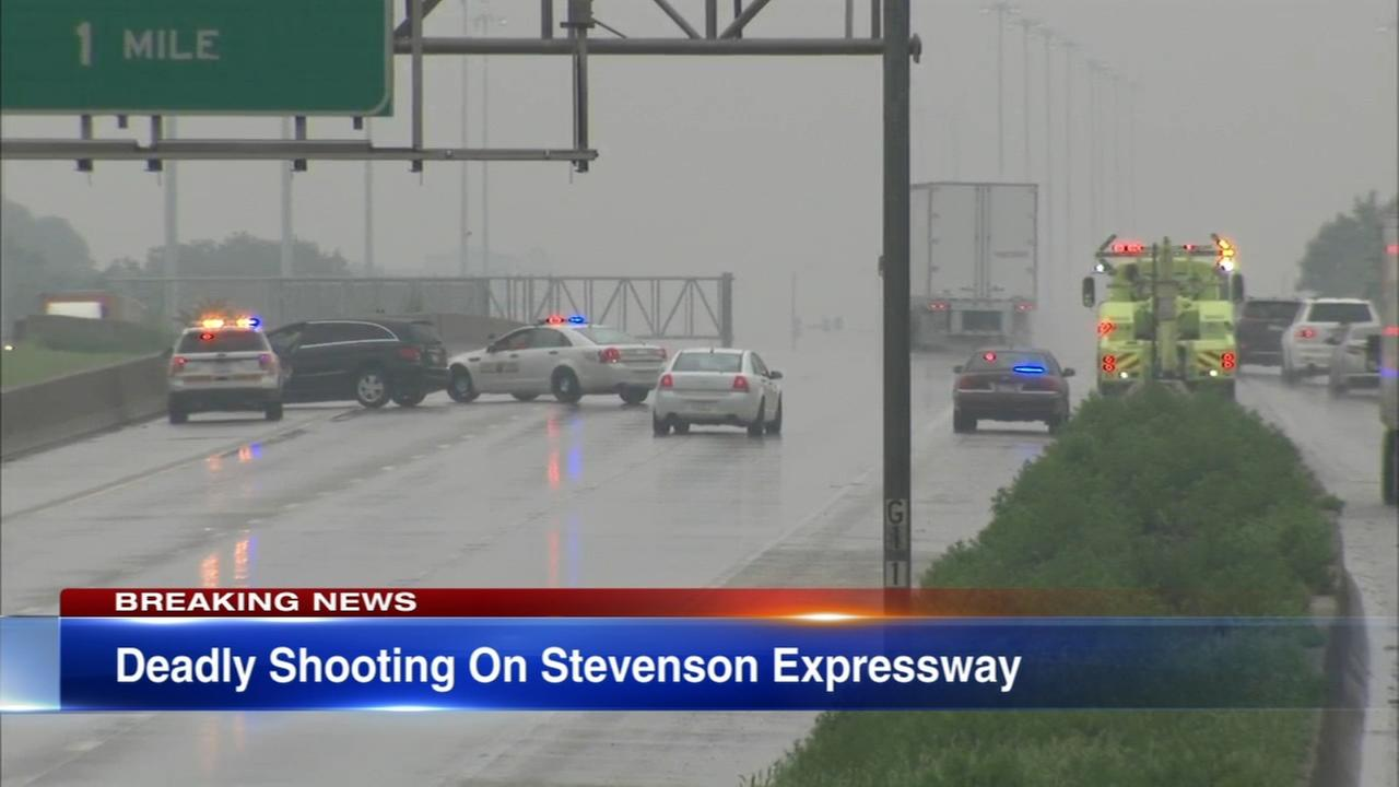 Man fatally shot on Stevenson Expressway