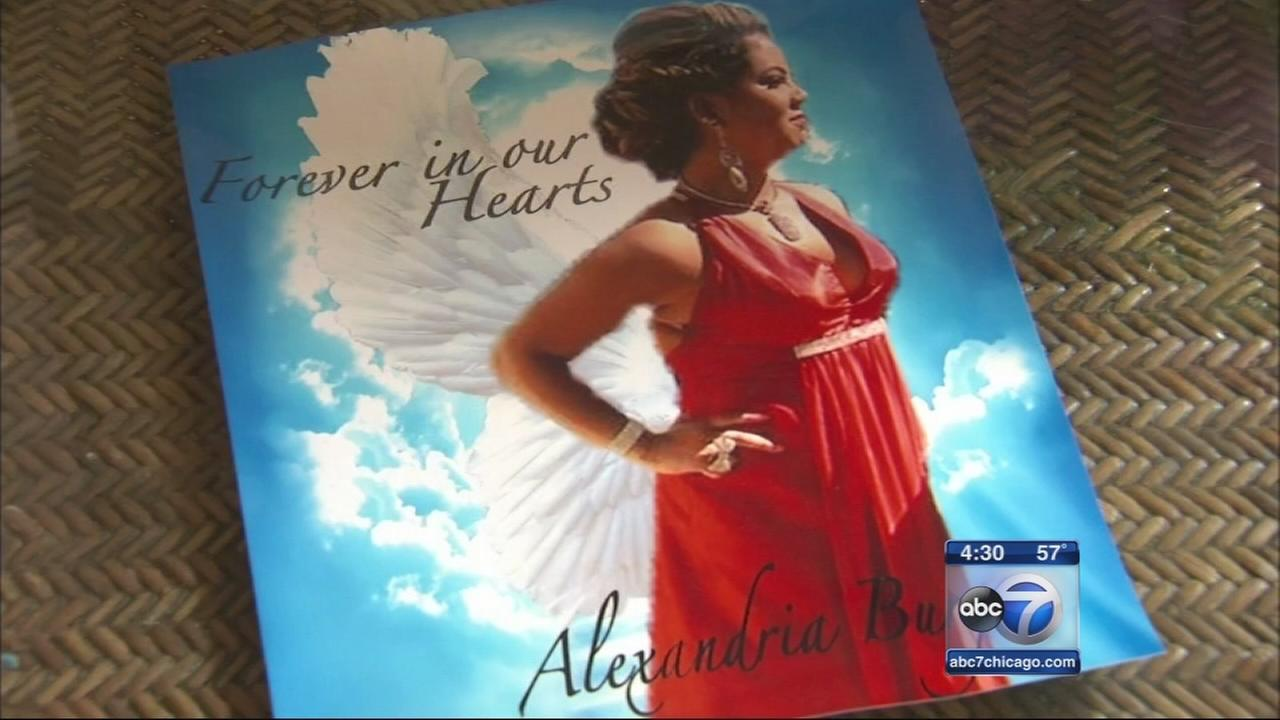 Funeral held for Alexsandria Burgos