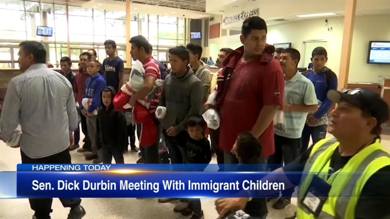 Sen. Durbin to meet with children separated from parents at border