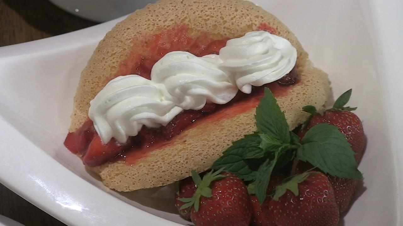 Extra Course: Strawberry tacos