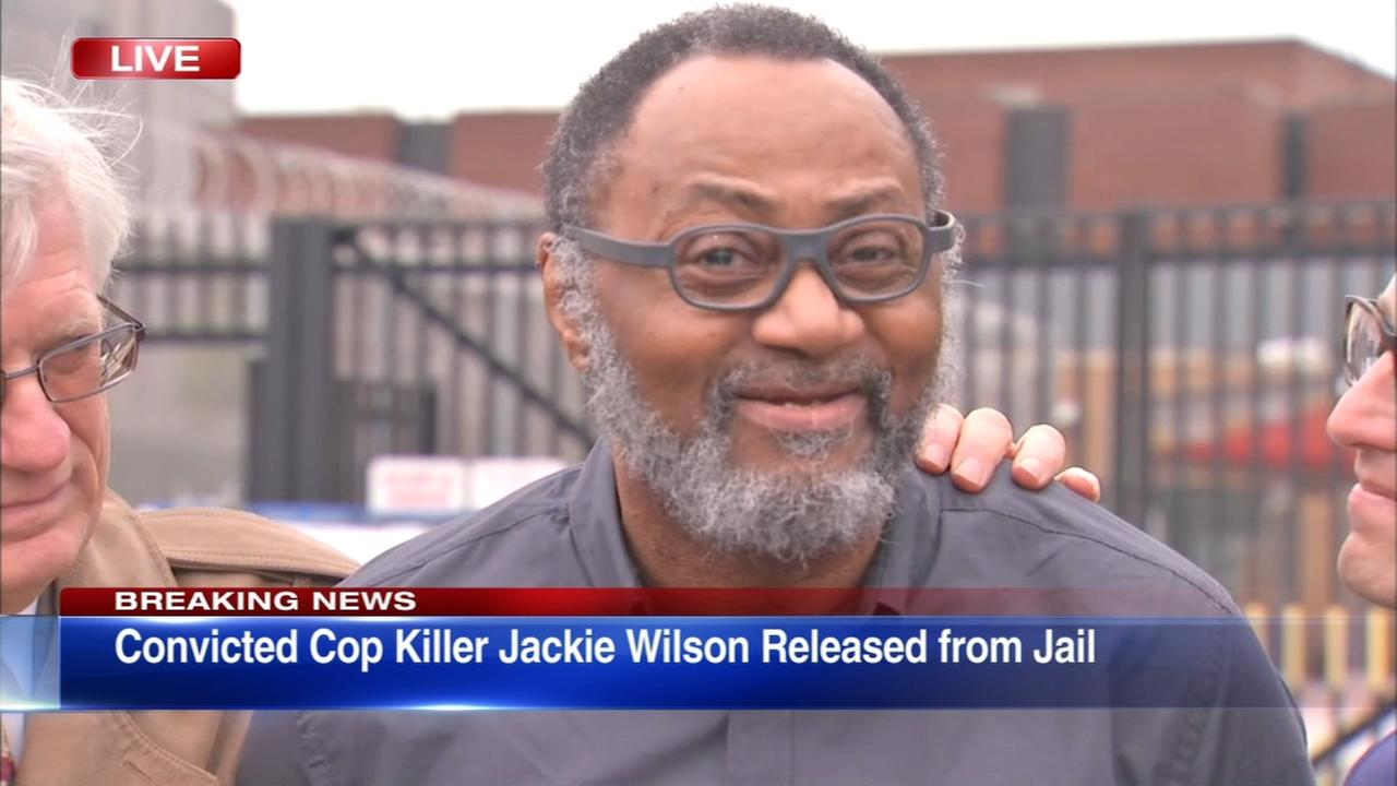 Jackie Wilson released from prison after 36 years