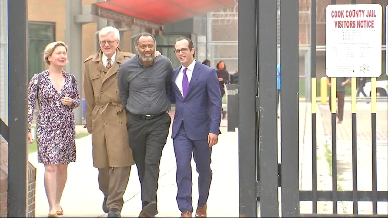 Jackie Wilson released from prison after 36 years after conviction overturned