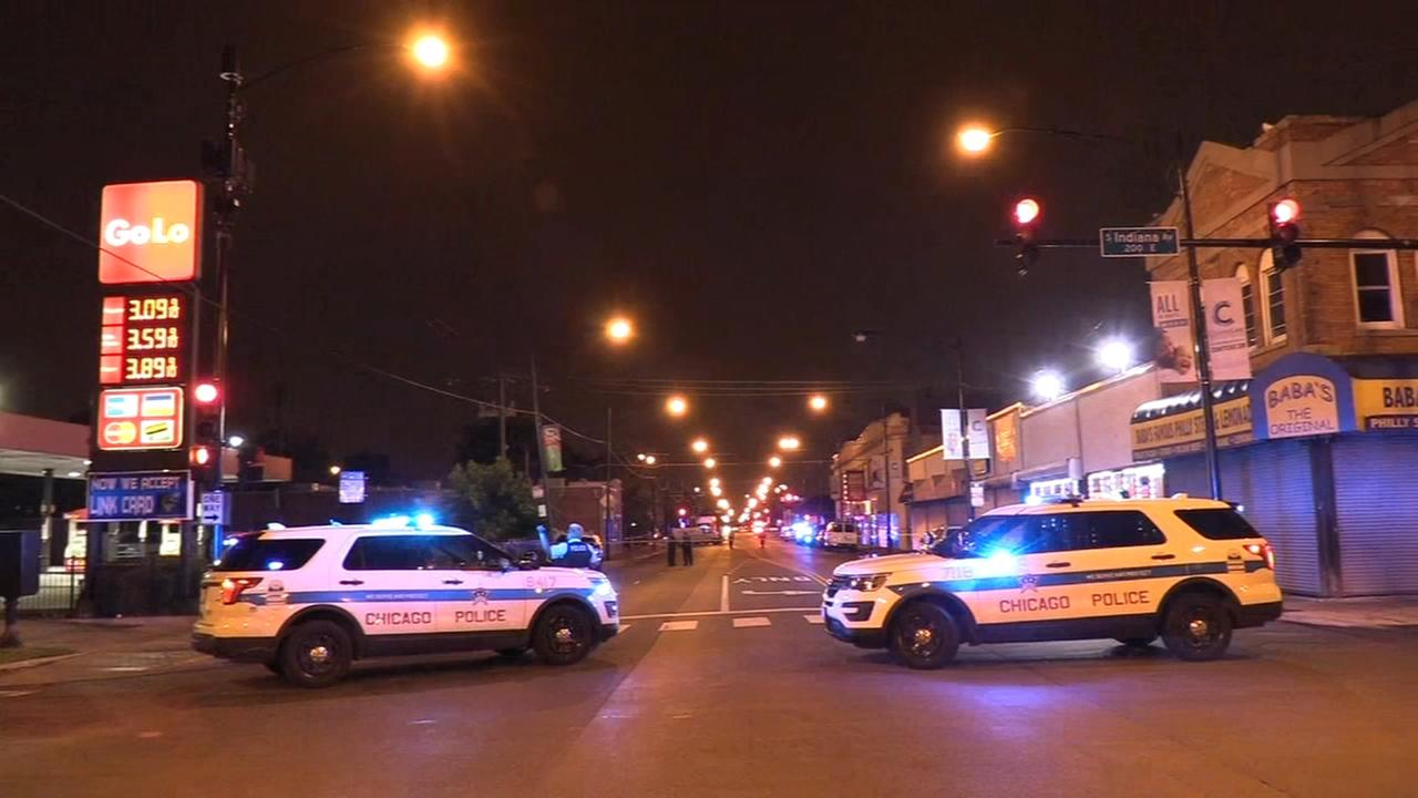 5 wounded, including 15-year-old boy, in Bronzeville shooting