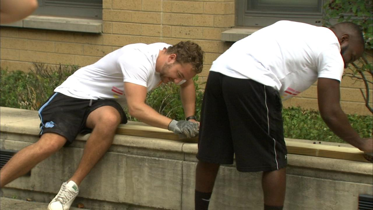 Chicago Cares volunteers spruce up CPS schools for serve-a-thon
