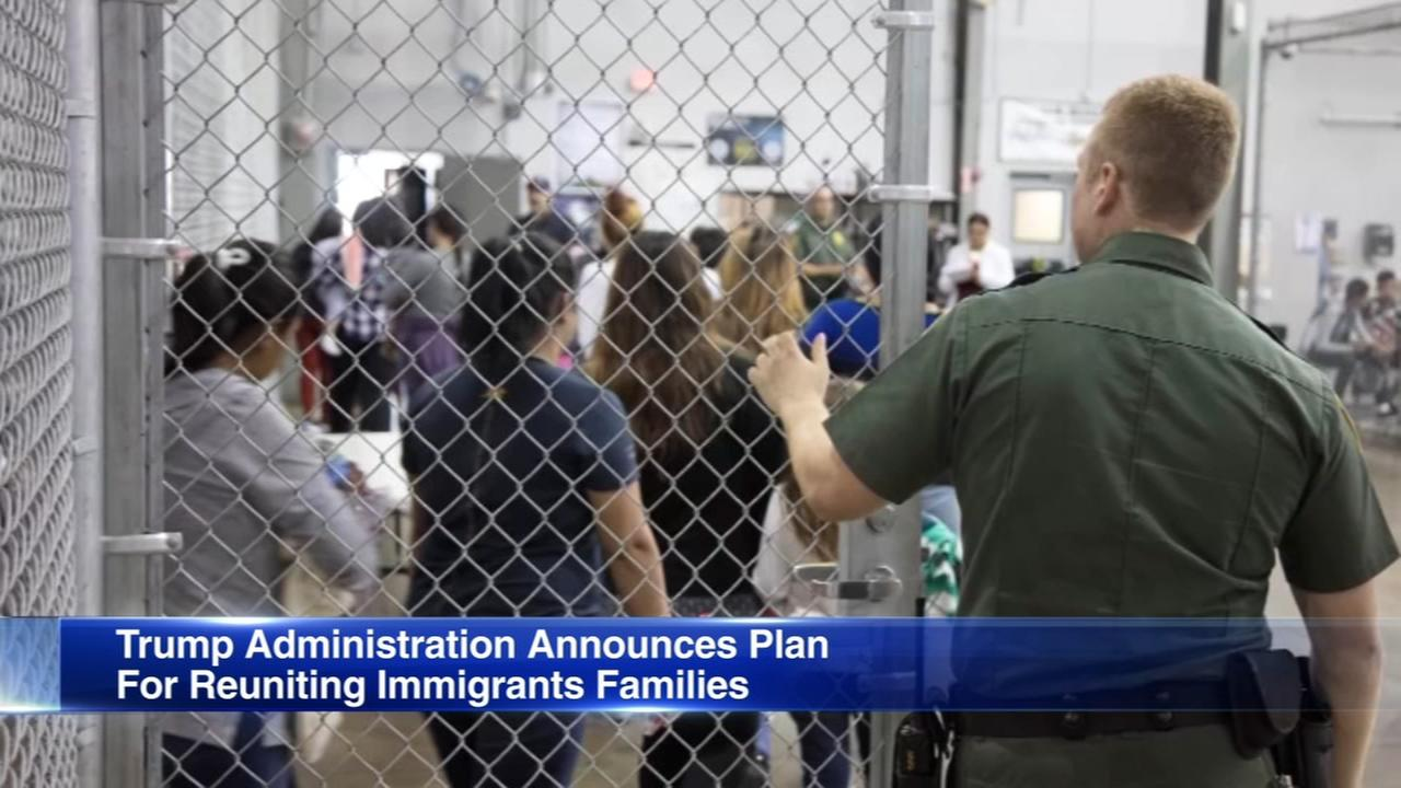 Trump Adminsitration announces plan to reunite immigrant families
