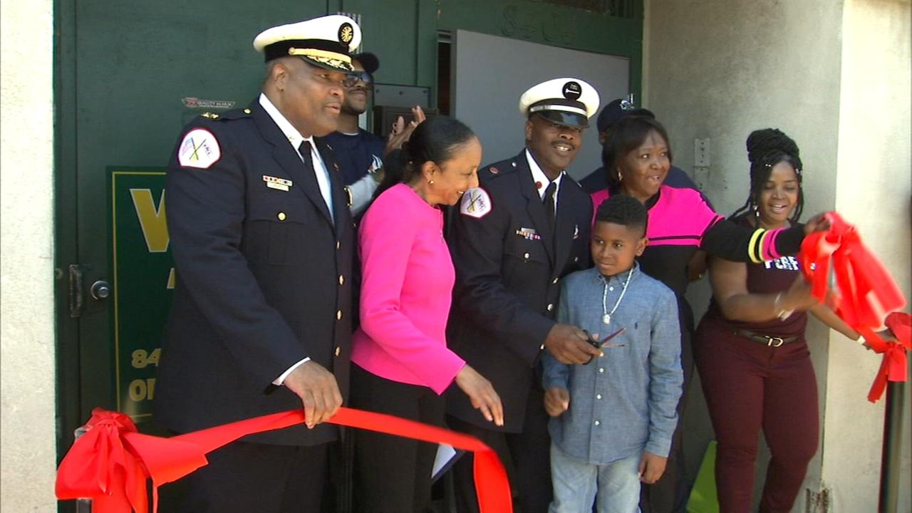 Black Fire Brigade opens new facility
