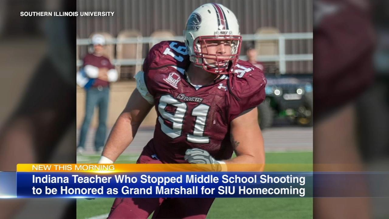 SIU to honor alum who stopped Indiana school shooting
