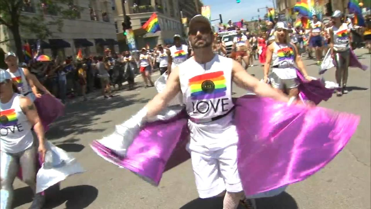 Chicago Pride Parade celebrates equality