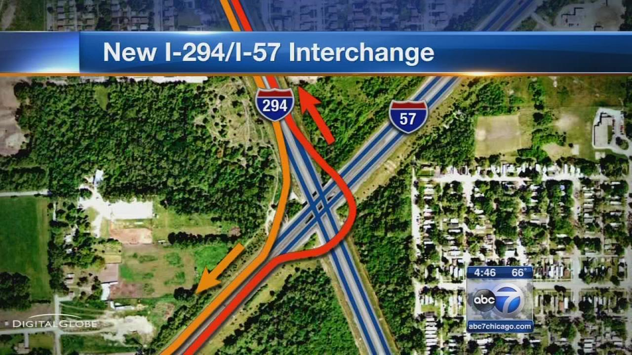 New I-57 interchange open to drivers on Saturday