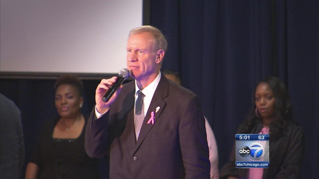 Rauner gains endorsements, Pastor Brooks vows to keep politics off pulpit