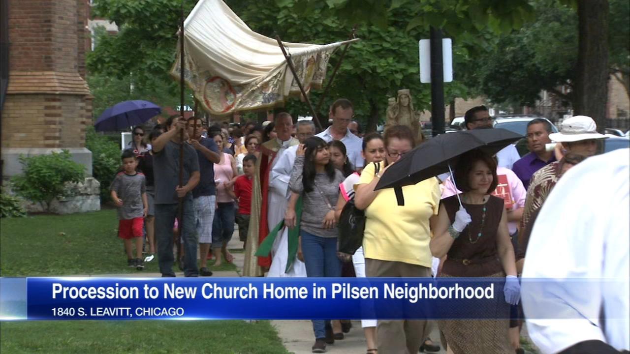 Amid church mergers, St. Ann Catholic Church parishioners join St. Paul's Ca...