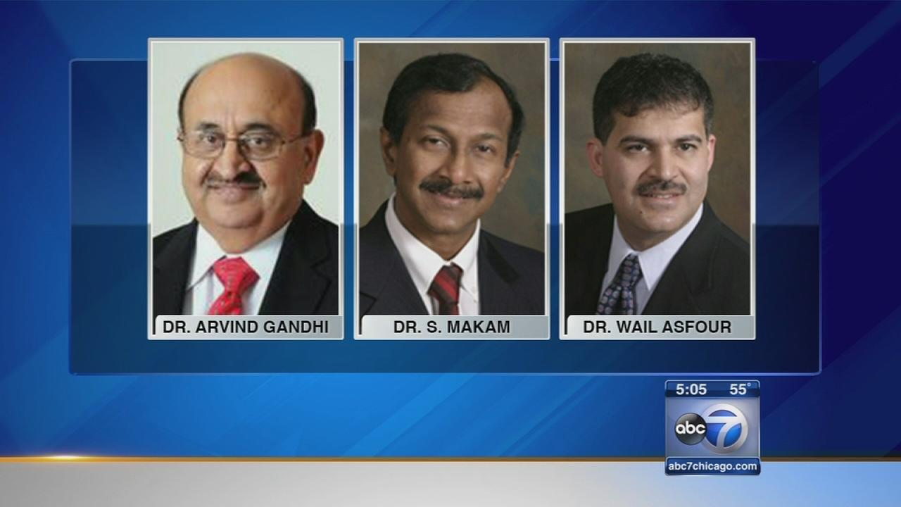 Three cardiologists sued for unnecessary procedures
