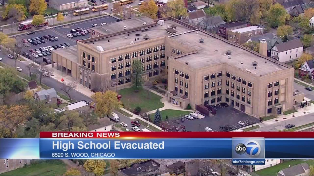 Harper HS evacuated due to chemical smell