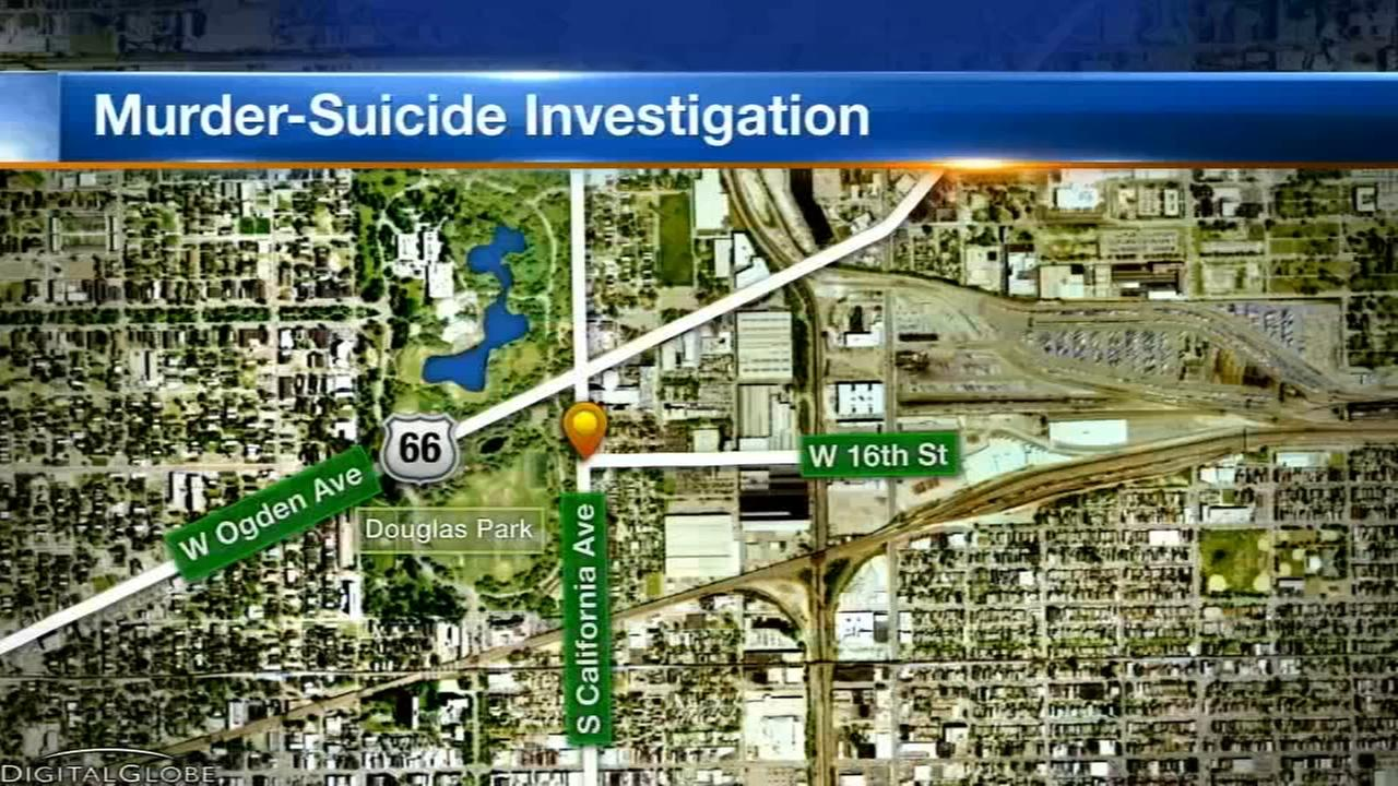 Douglas Park Chicago Map.Girl 5 And Man 51 Found Dead In Possible Murder Suicide In