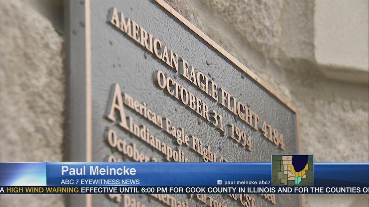 Memorial wall built to honor Flight 4184 victims