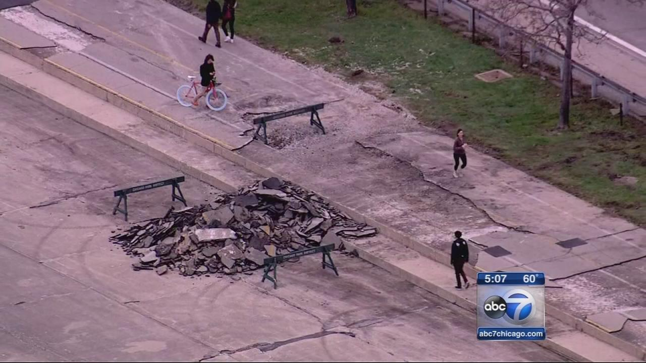 Lakefront clean up begins after Halloween weather