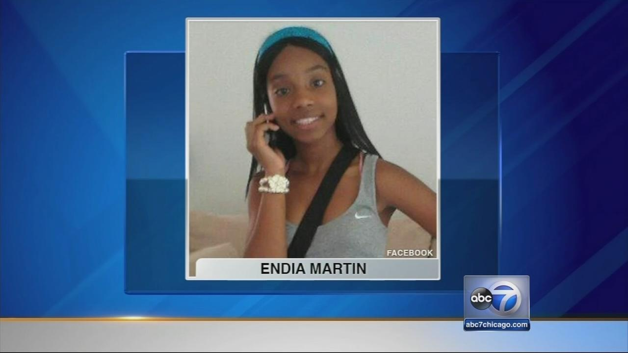 Girl, 14, charged in shooting death of Endia Martin, 14