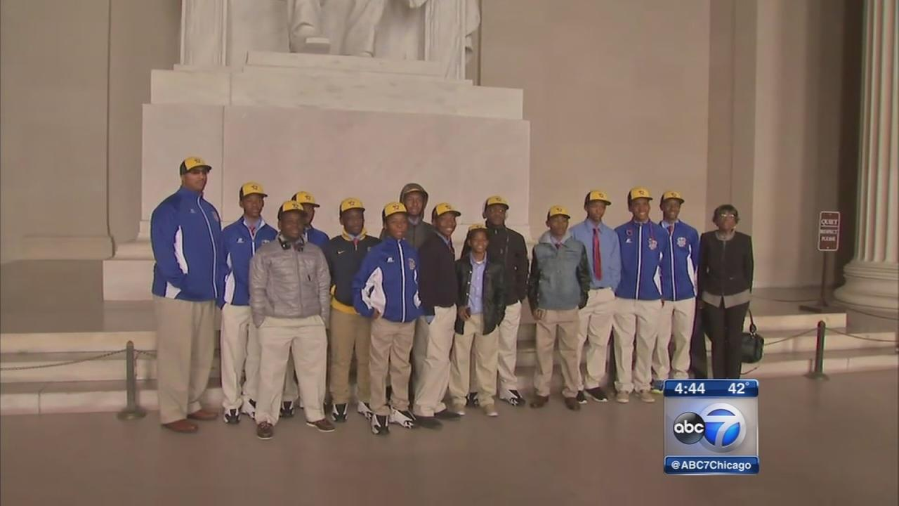 Jackie Robinson West tour Washington D.C.