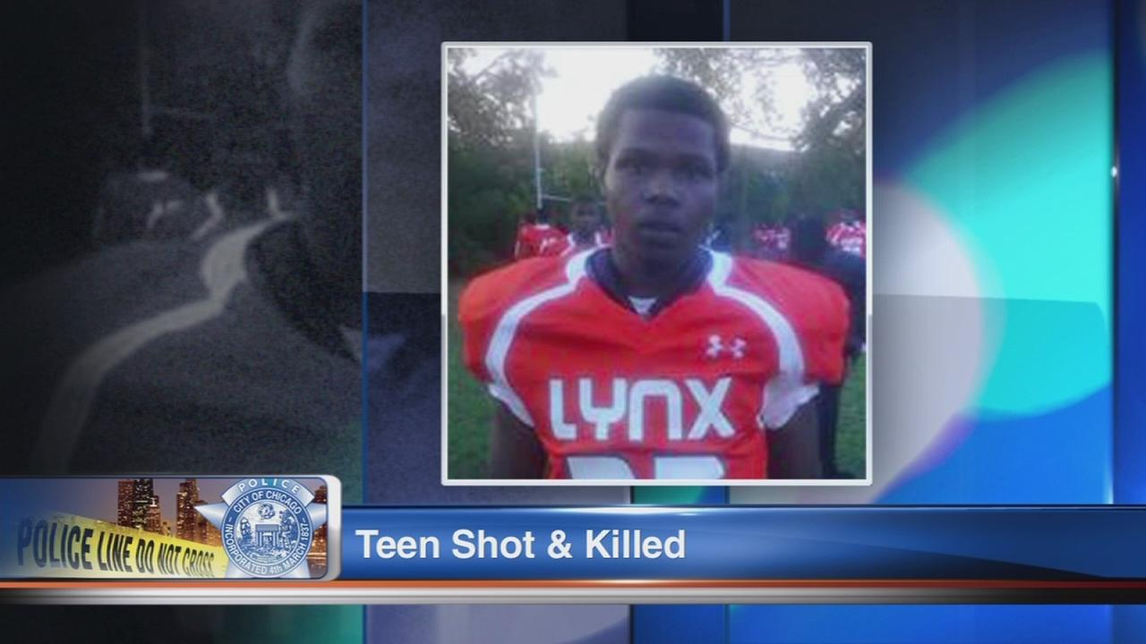 Deon Gilbert, 15, shot in South Deering