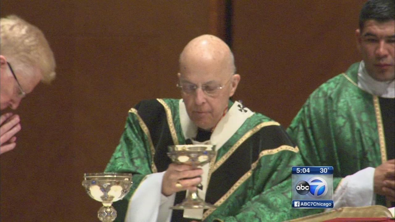 Cardinal George celebrates final Mass at Holy Name Cathedral