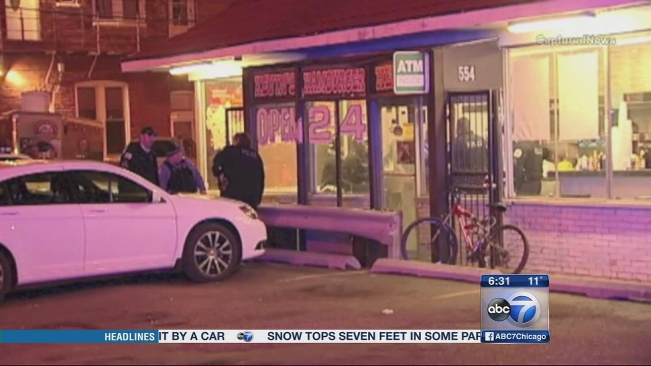 Security guard shot during Bridgeport robbery