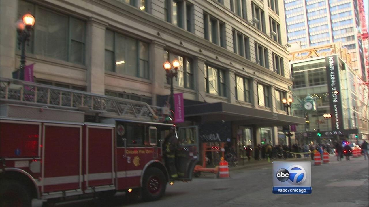 4 hurt at Macy State Street store