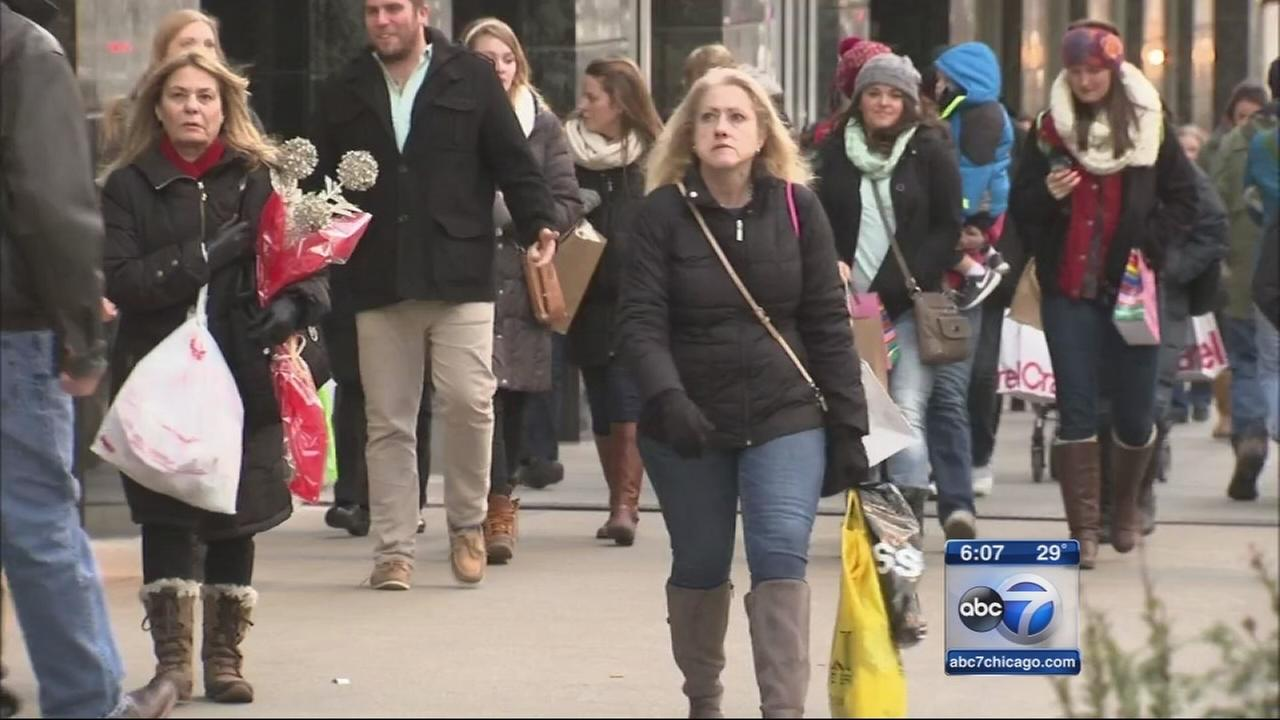 Shoppers preparing for busy holiday season