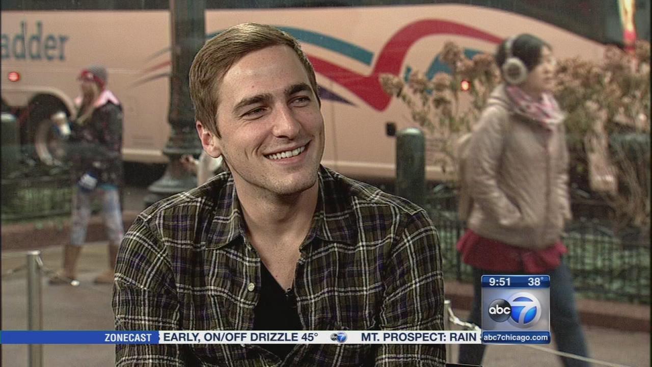 Kendall Schmidt talks about Magnificent Mile Lights Festival