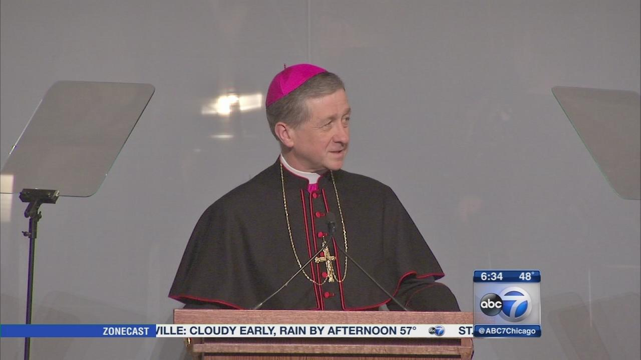 Archbishop Blase Cupich to hold first mass at St. Agathas