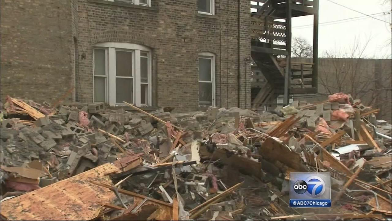 Washington Park building collapse investigated