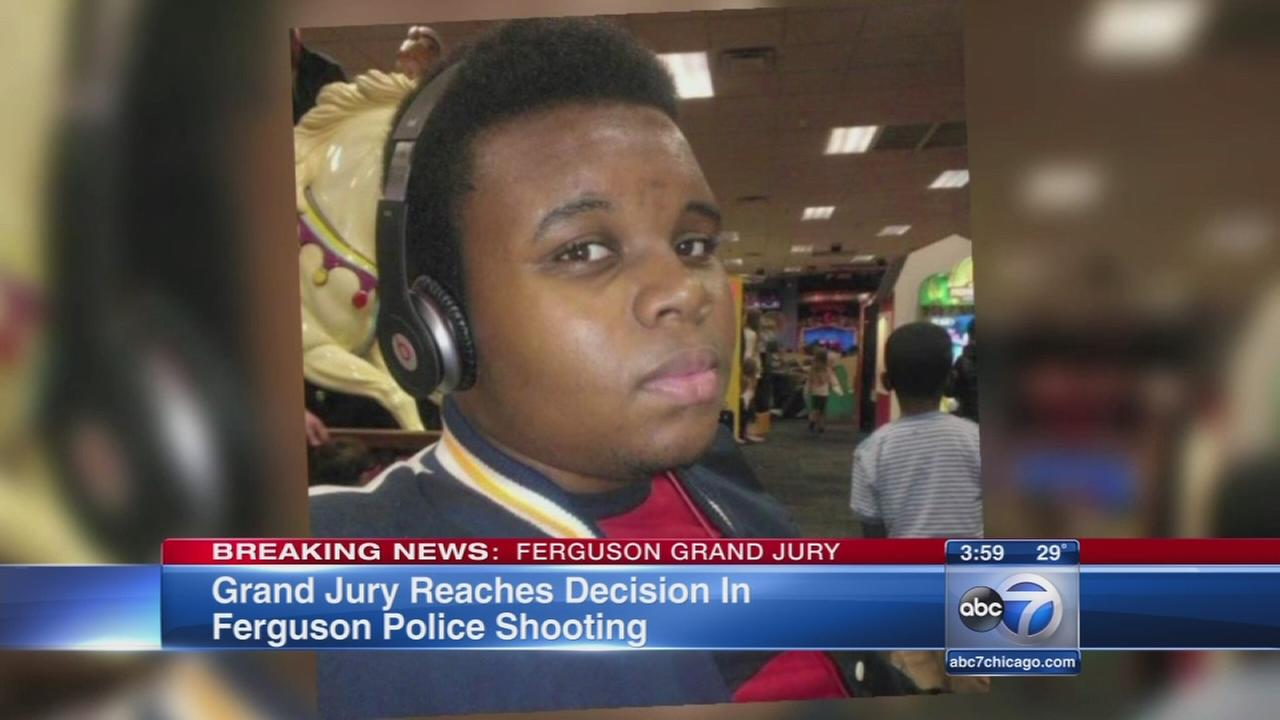 Grand jury reaches decision in Ferguson shooting case
