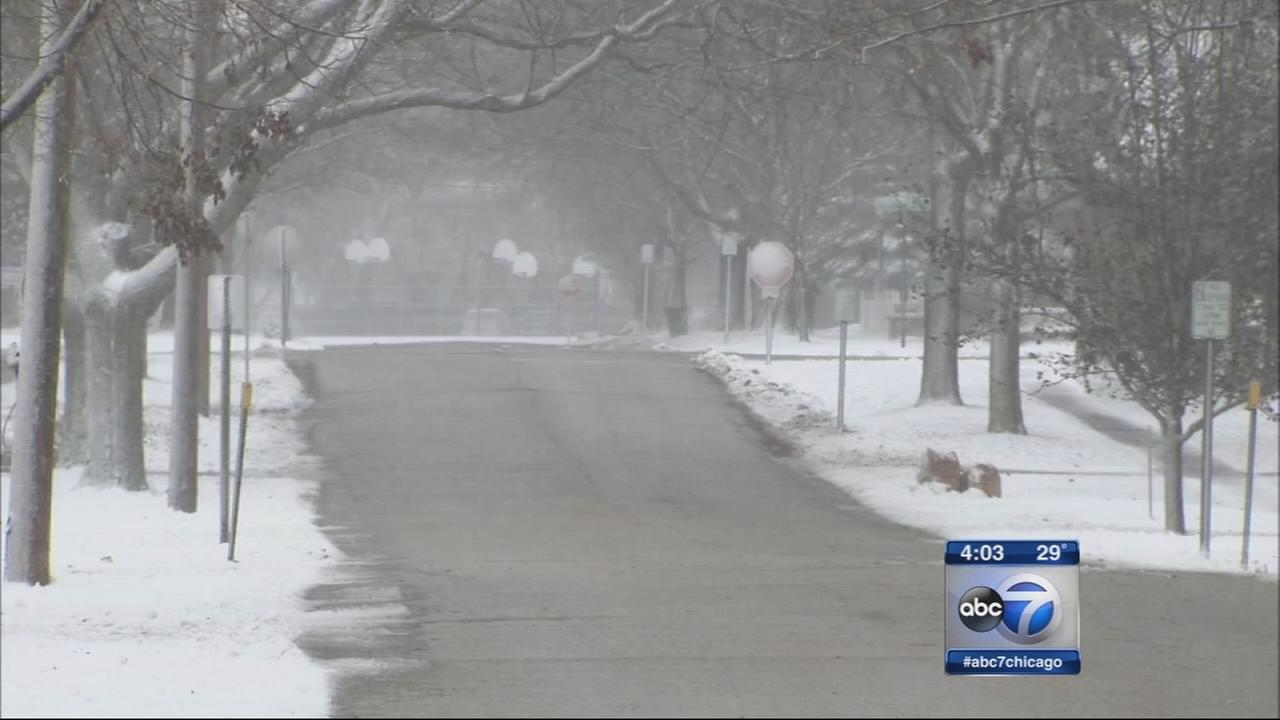 Sleet and snow will affect evening commute