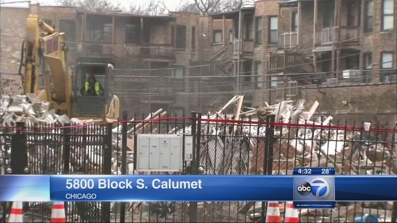 Washington Park building collapse under investigation