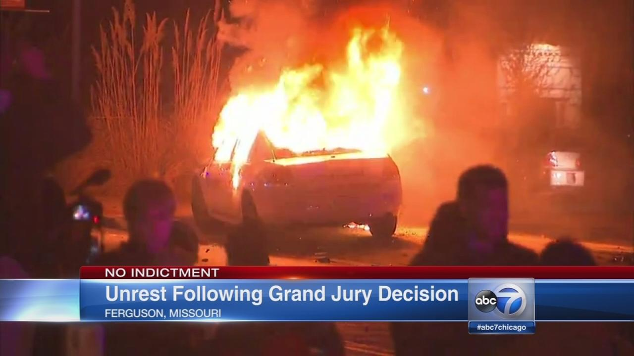 Ferguson grand jury decision: No indictment