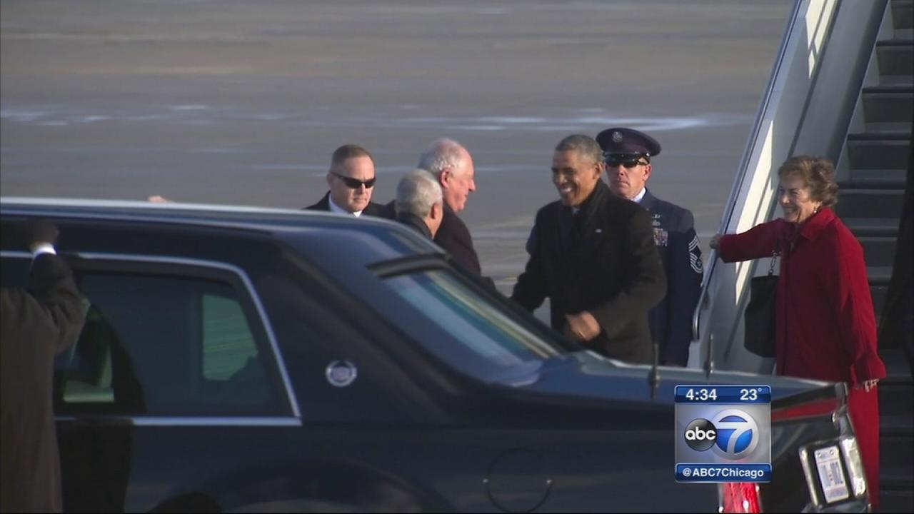 Pres. Obama in Chicago to talk immigration policies
