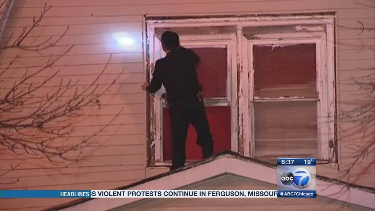 Man shot through window in Back of the Yards