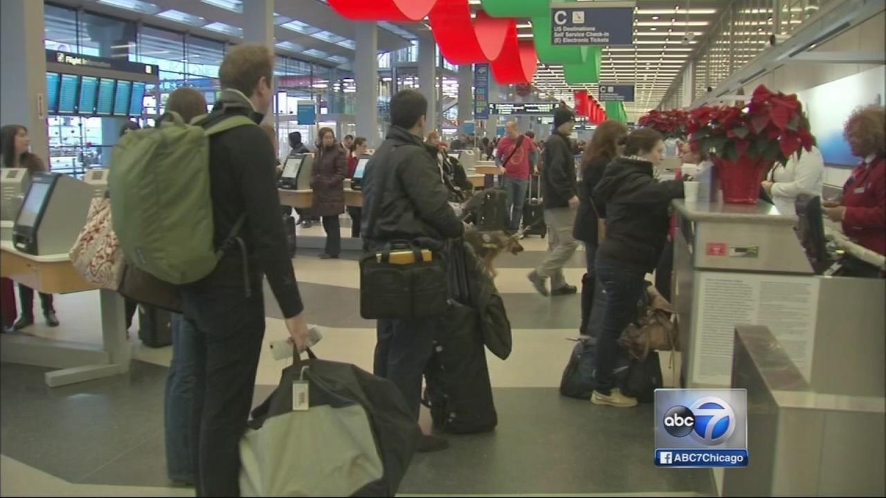 Nearly 2M to pass through Chicago airports