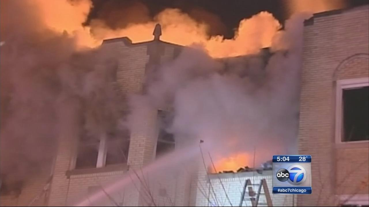 Woman sues owner of Northwest Side building that caught fire