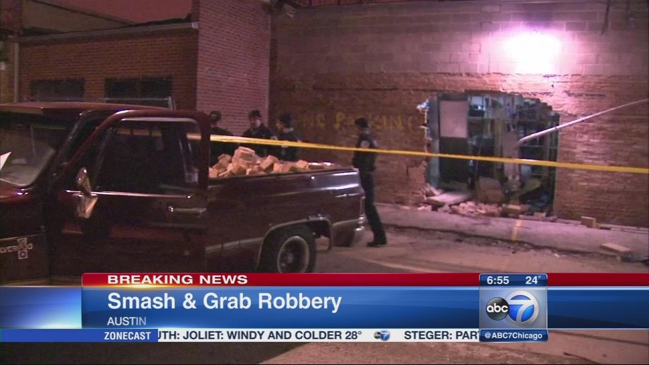 Police investigate Austin smash-and-grab