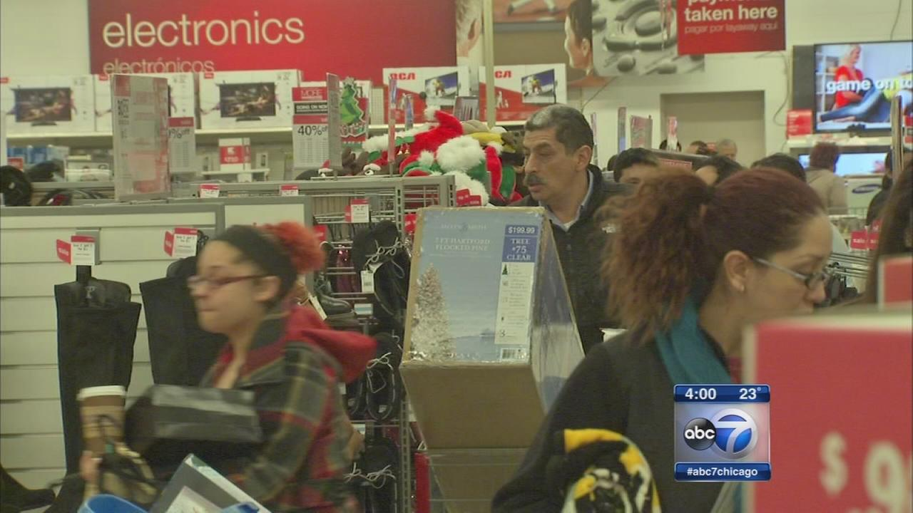 Thanksgiving Day shoppers finding big bargains