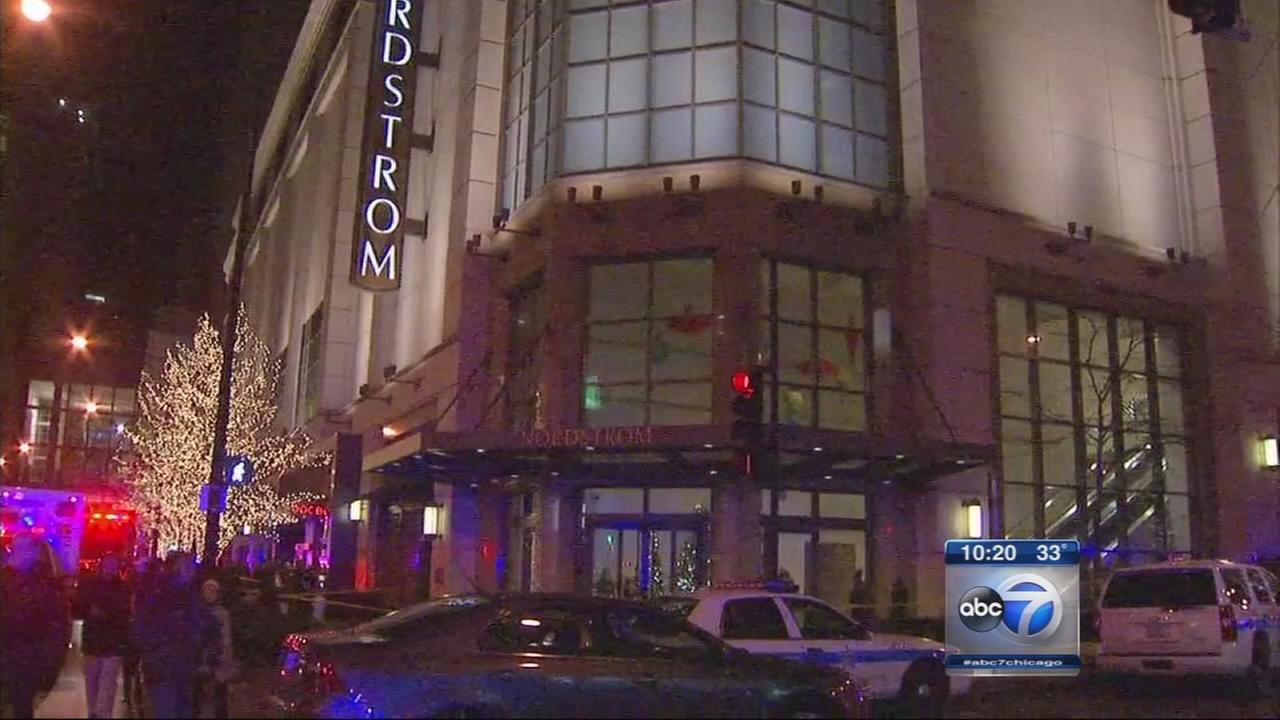 2 shot inside Chicago Nordstrom store