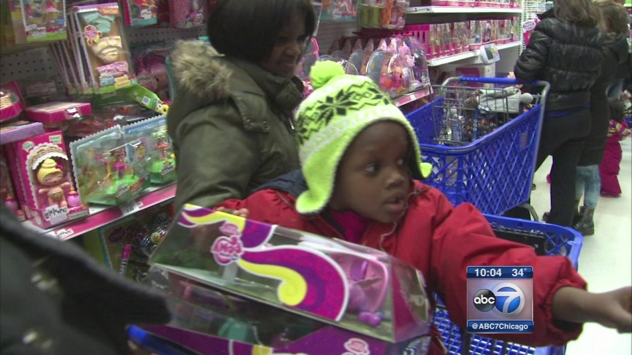 Shoppers rush stores on Black Friday