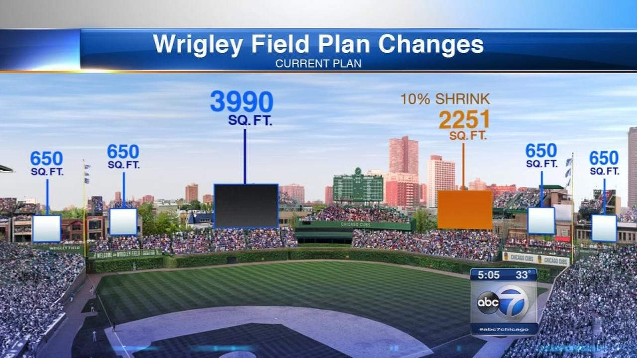 Wrigley Field sign change approved by landmarks commission