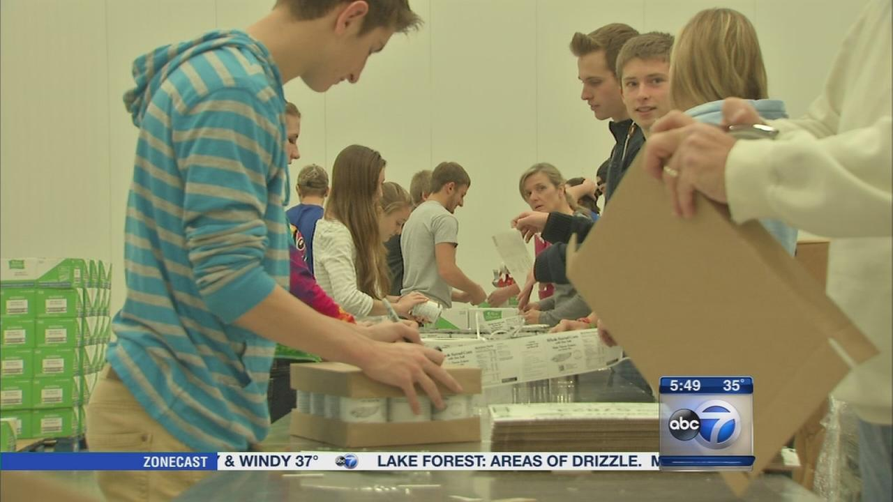 Spirit of Giving: Northern Illinois Food Bank