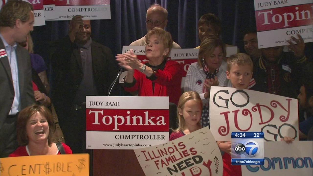 Topinka championed women
