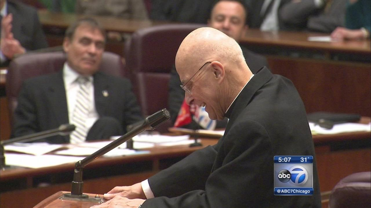 Cardinal George awarded Chicago?s highest honorWLS