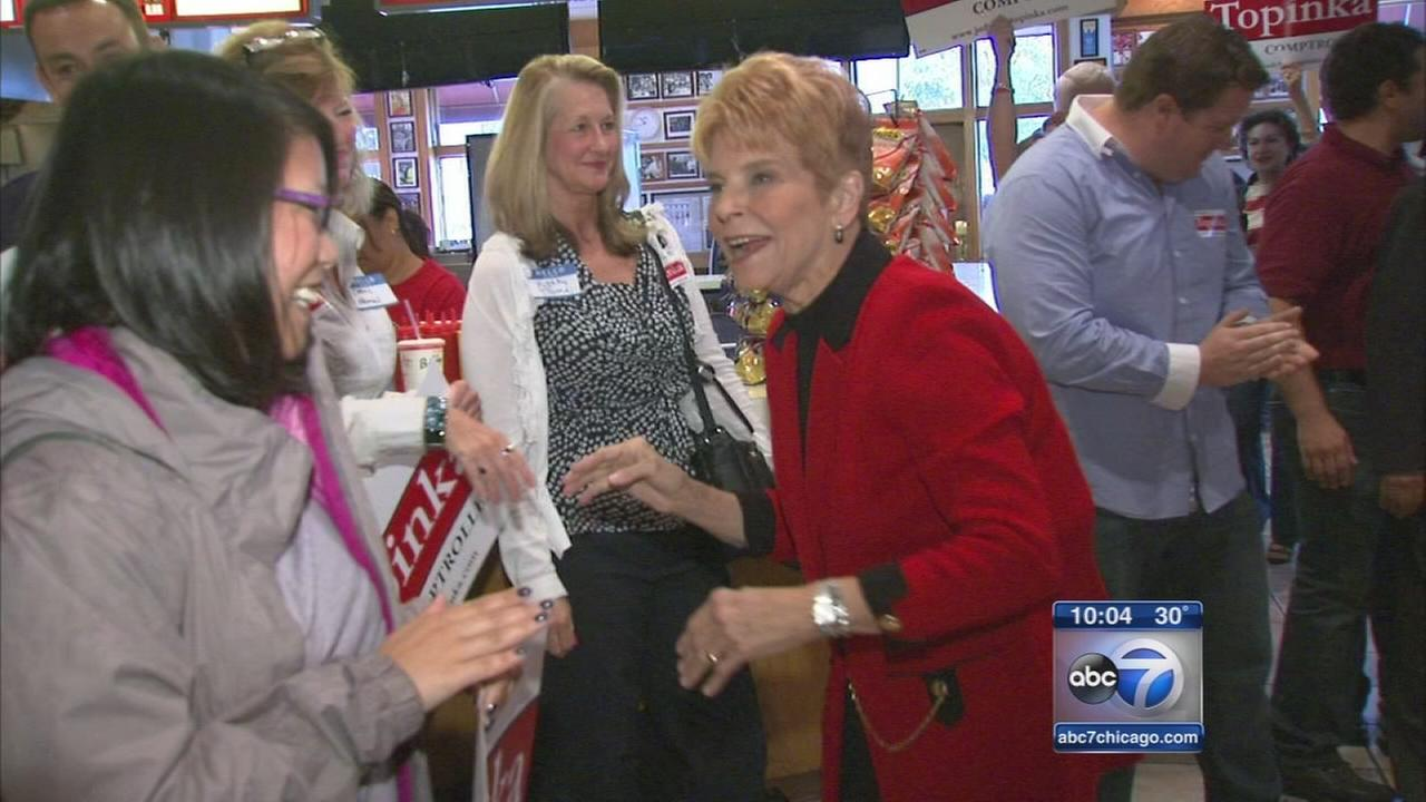 Who will succeed Judy Baar Topinka