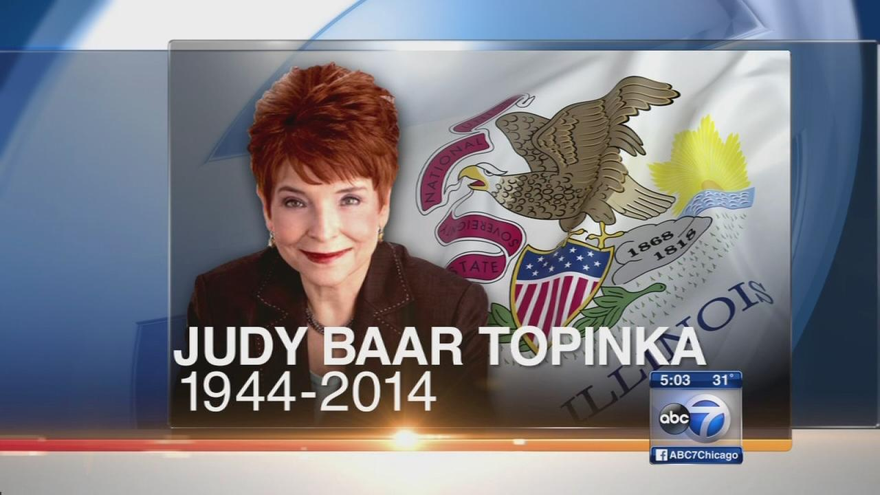 Topinka memorial announced
