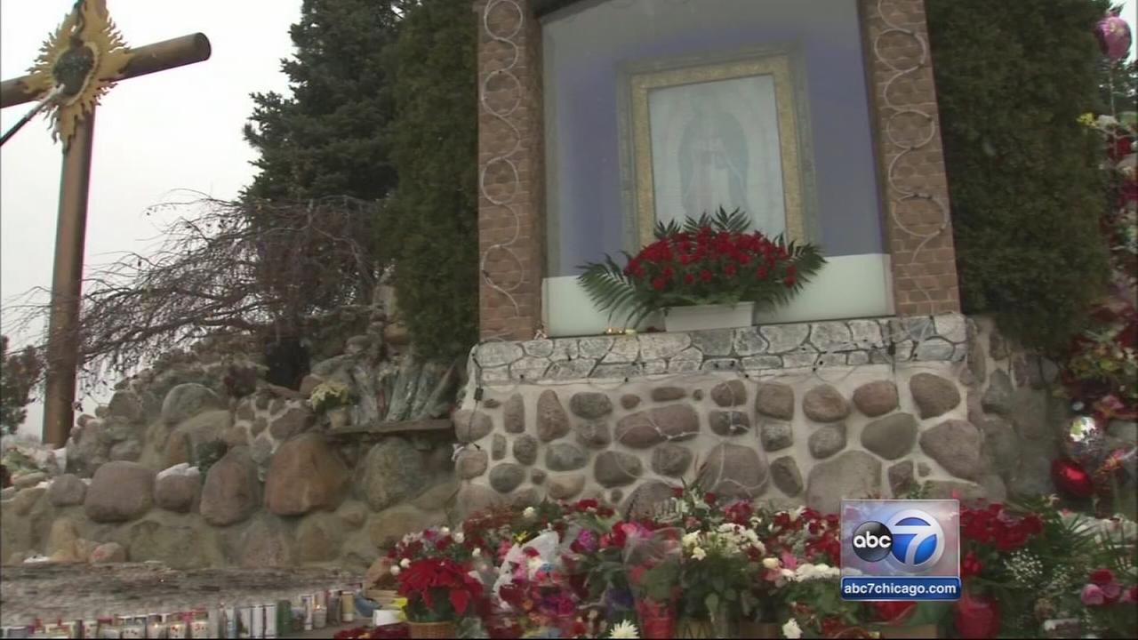 Pilgrims visit Lady of Guadalupe shrine