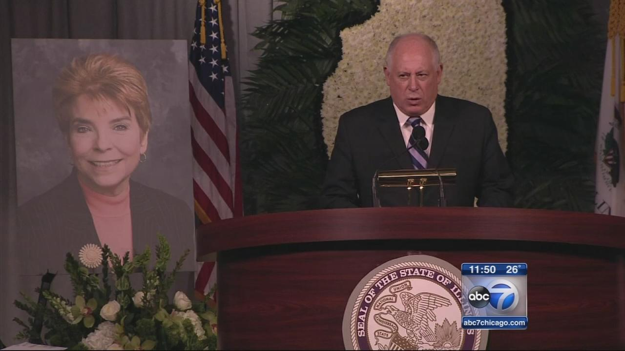 Topinka memorial held